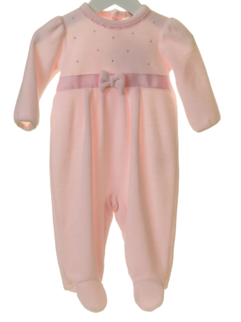 BB0176 Pink Babygrow