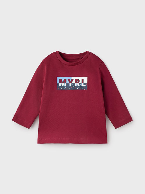 108 Mayoral long sleeve T-shirt