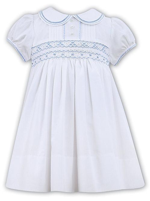 Sarah Louise Dress with Hand Smocking and Peter Pan collar