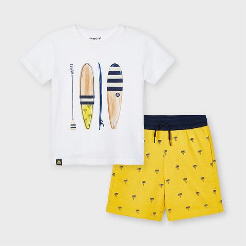 Bermuda Shorts Set