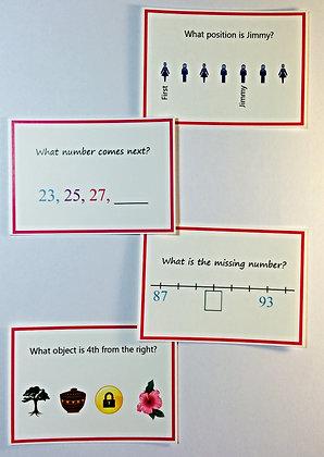 Number Sense (age 6 - 8)