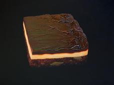 Very Big Chocolate Cake 2006 acrylic and oil on canvas 152x152cm.jpg