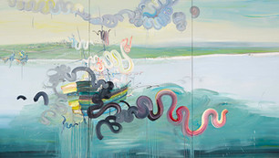 Resplendent Departure 2012 oil on canvas 170x330cm.jpg