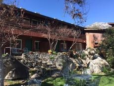 Buckeye Tree Lodge building 1 and yard
