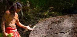 petroglyphes tahiti