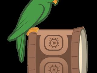 Notre logo, un message pour la protection de la nature et de la culture polynésiennes