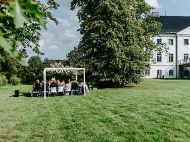 schlipsundschleier.de Ostsee Schlossgut