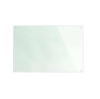 900 x 750 White Glass Splashback