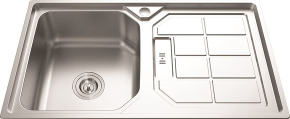 Undermount Sink - Stainless Steel -830mm With DRAINER