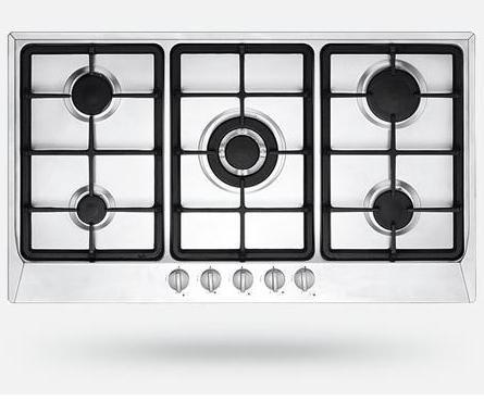 5 Burner Gas Cook Top - S/S (Prestige Series)