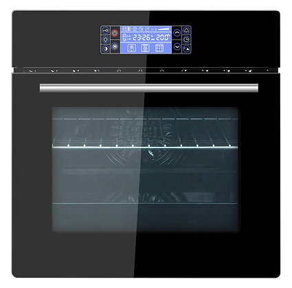 Built in oven 60cm - 60 L - 12 Functions (Black)