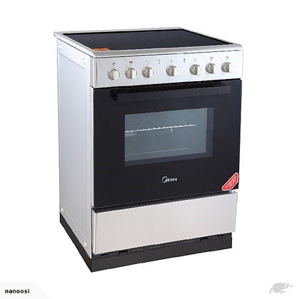 Freestanding  Stove 600mm Ceramic top and Electric oven 70 Ltr S/Steel