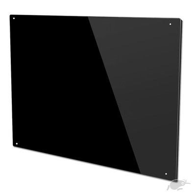 SPLASHBACK (black color glass) 900 BY 750mm