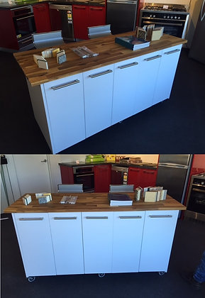Movable Island Kitchen Workbench Great Look Nanoosi