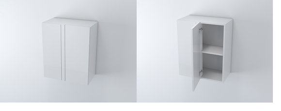 Blind Corner Wall Unit 600W