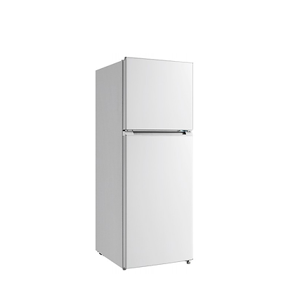 Top Mount Fridge Freezer White 239L