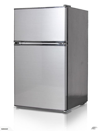 91L Bar Fridge Freezer** Stainless steel