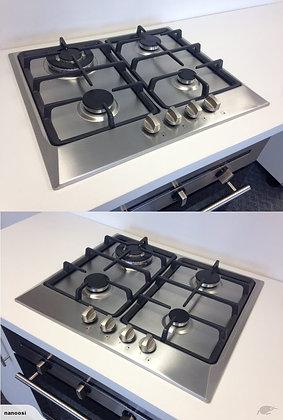4 Burner Gas Cook Top - S/S (Prestige Series)