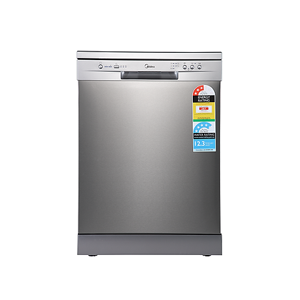 Midea 14 Place Setting Dishwasher - Stainless Steel