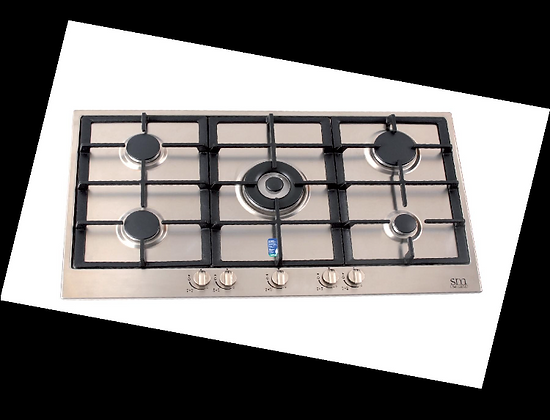 5 Burner Gas Cook Top 900mm (Hammer Series) Made in ITALY