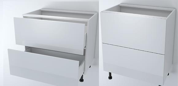 Base 3 Drawers 900W Tandem Box