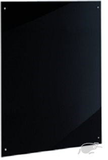 SPLASHBACK (black color glass) 600 BY 750mm