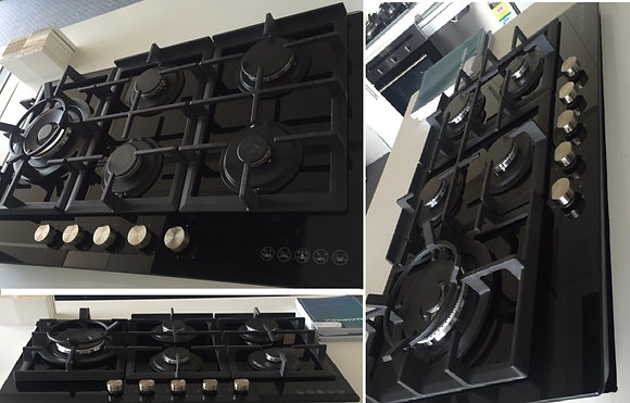 5 Burner Gas Cook Top - Glass (Prestige Series)