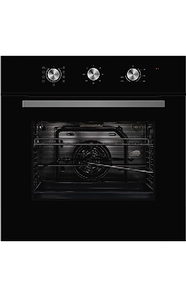 60cm 5 Function Wall Oven 65DME40004-BK