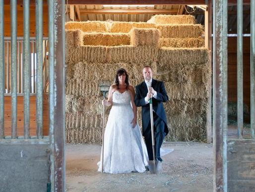 Modern Day American Gothic Wedding