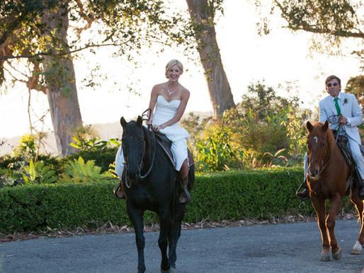 Beachen' Santa Barbara Wedding