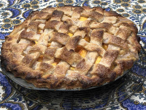 Scratch Made Peach Pie