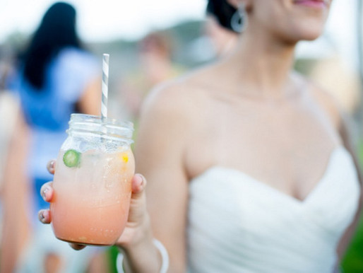 Rustic Santa Barbara Ranch Wedding Cocktails
