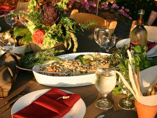 Tuscan Table Decor