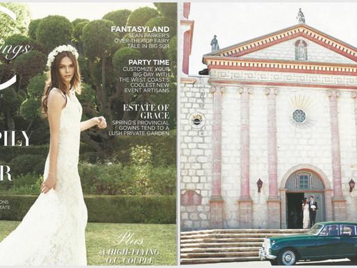 Viktor Armond Hammer and Angelia de Meistre Montecito Wedding