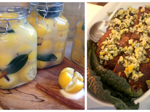 Pure Joy Catering Salmon With Sun Dried Tomato Crust & Preserved Lemon Gremolata