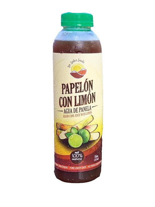 Papelon con limón Los Andes 16 oz