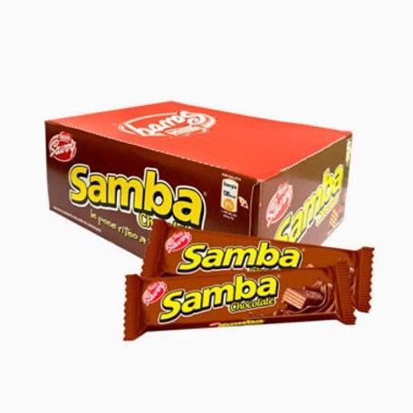 Samba chocolate 20 units box