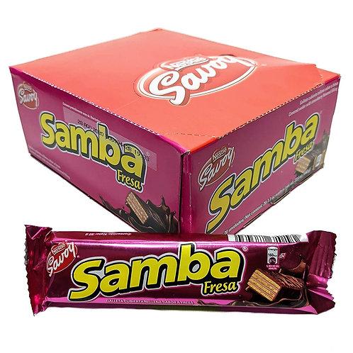 Samba Fresa Box 20 unid