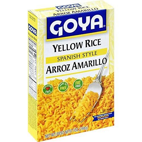 Yellow Rice (Estilo Espanol) Goya 7 oz