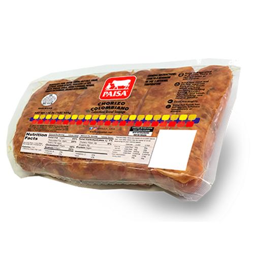 Chorizo Colombiano Paisa 1lb