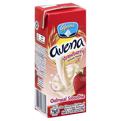 Alpina strawberry oatmeal 200 ml (avena sabor fresa)
