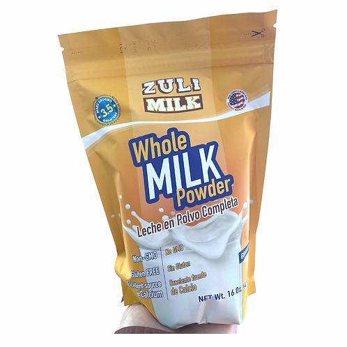 Zuli milk whole powder