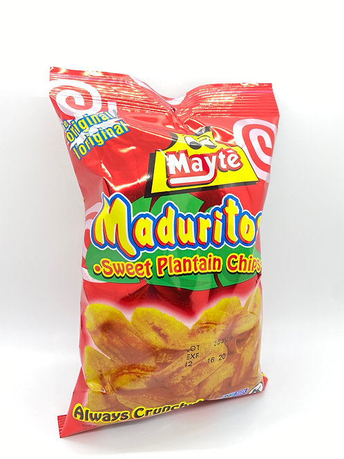 Maduritos Mayté. Sweet plantain Chips