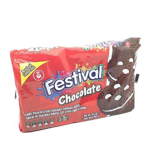 Galletas festival chocolate 12 packs