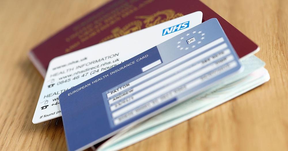 Здравно Осигурителна Карта - Англия - Счетоводител