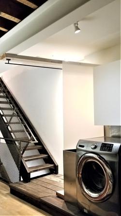 @nd floor stair area