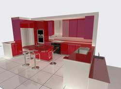 SK10 Kitchen/bar layout
