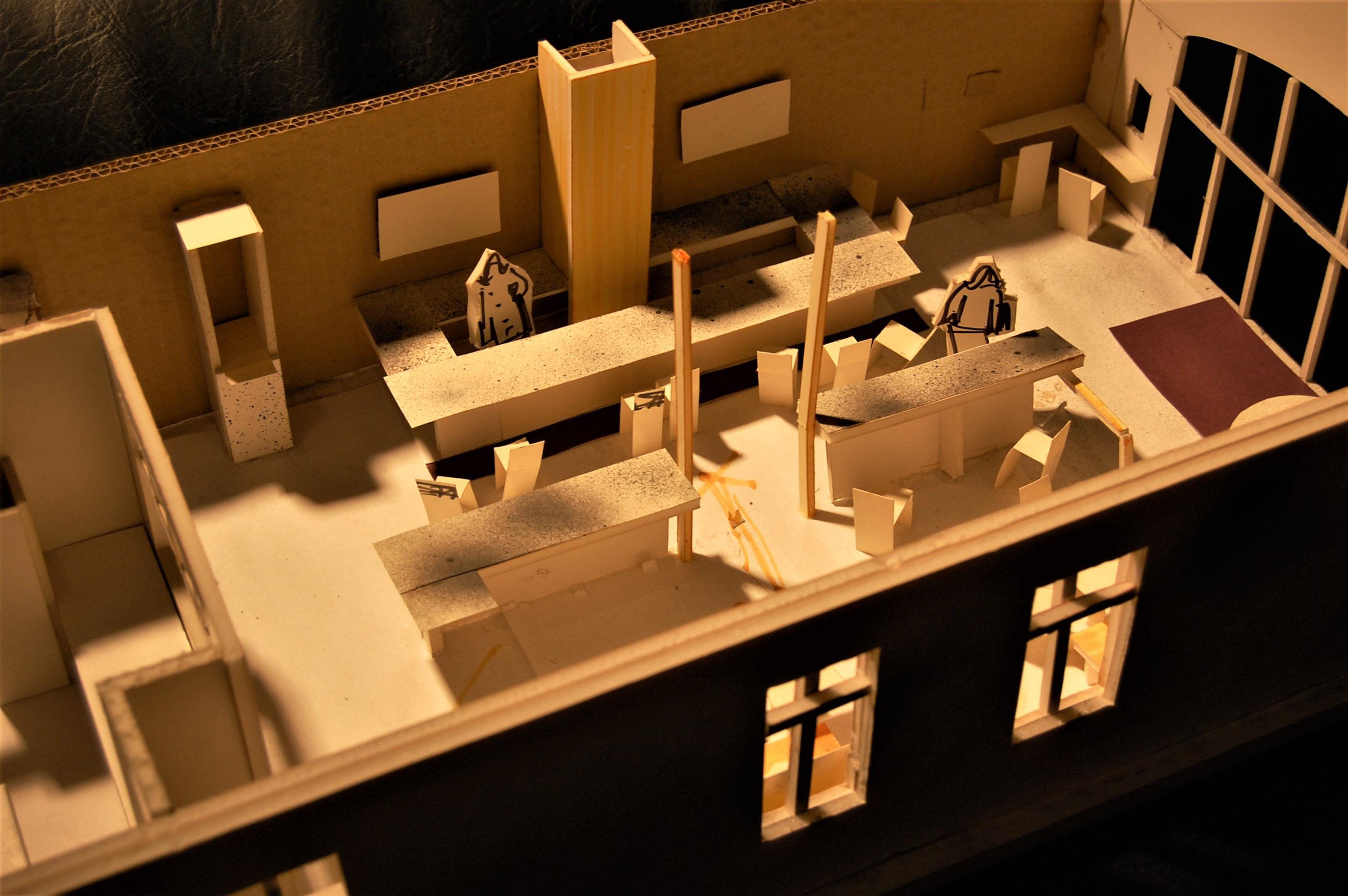 Park Slope Cafe study model 07