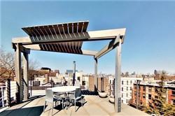 Condominium roof deck