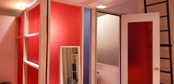 Townhouse color resin panels